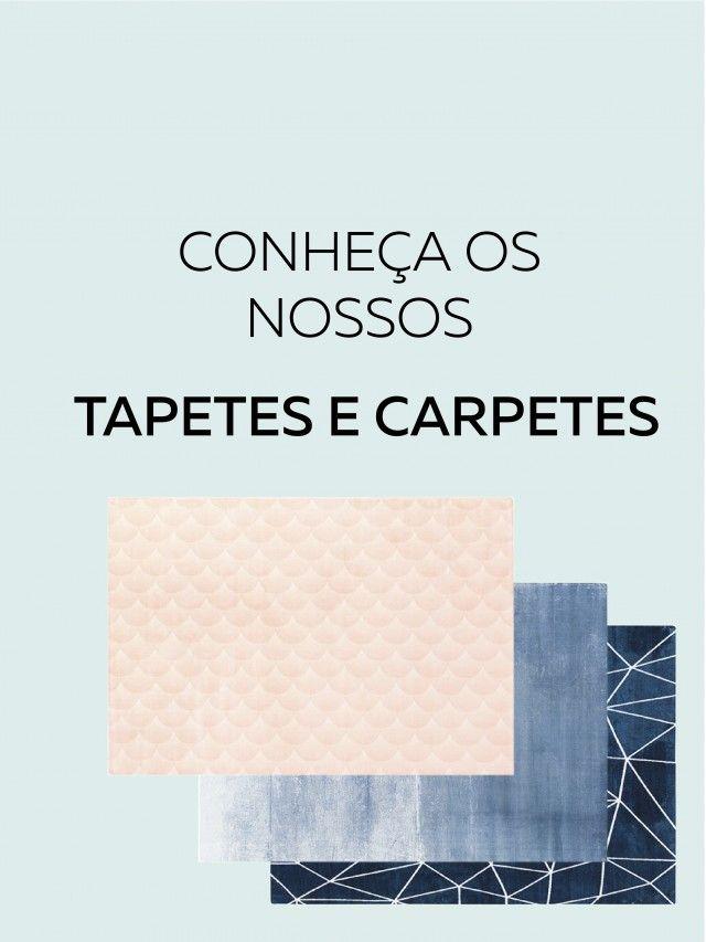 FOTOGRAFIA DOS NOSSOS TAPETES E CARPETES