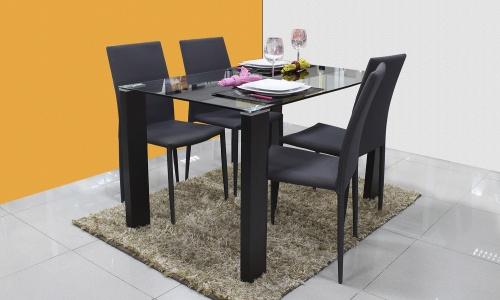 Conjunto Mesa + 4 Cadeiras JOM GFT-012 / XS2096