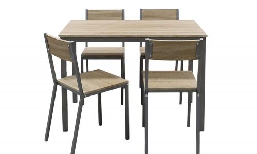 Conjunto Mesa + 4 Cadeiras JOM YS2524