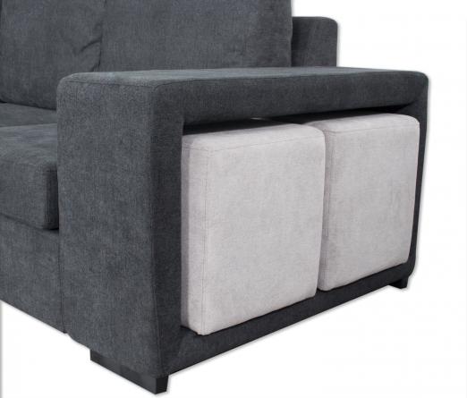 Sofá com Chaise JOM B04