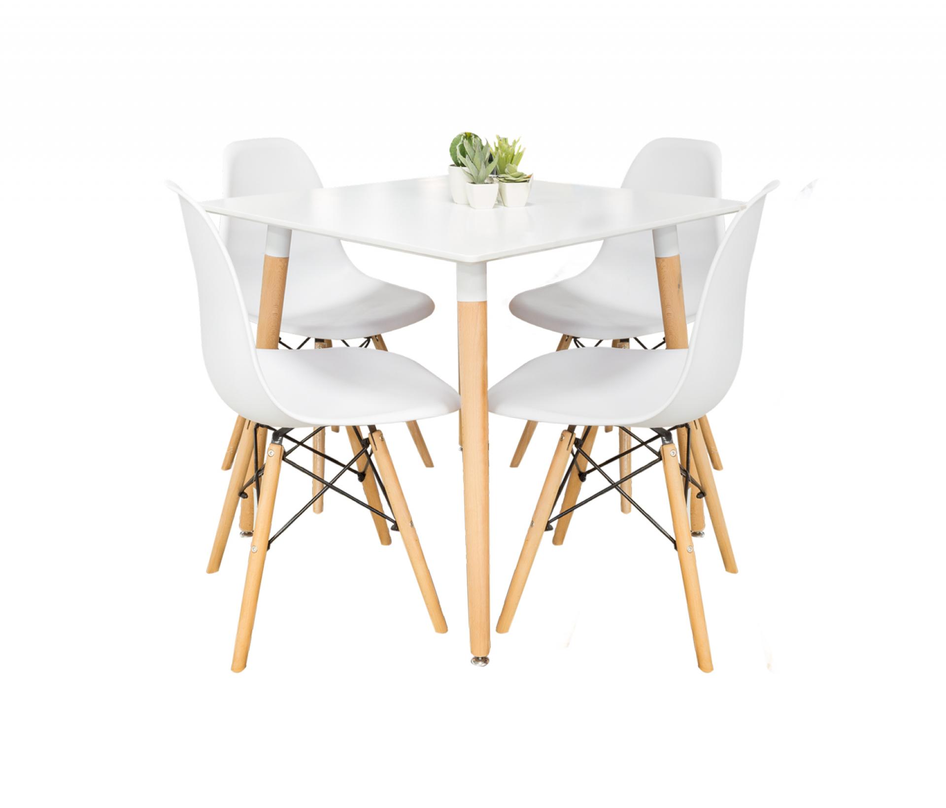 Conjunto Mesa + 4 Cadeiras JOM M-204 / C-808