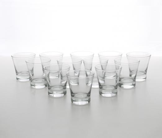 Conjunto 12 copos  RONCAL 1006334