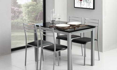 Conjunto mesa + 4 Cadeiras JOM YS2348 + YS2458C