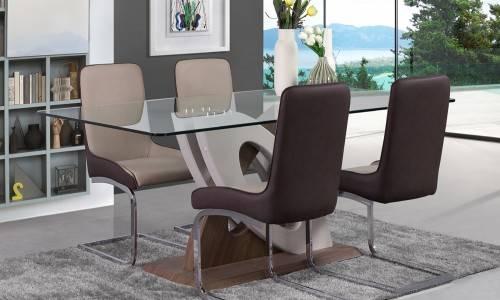 Conjunto mesa + 4 cadeiras JOM F-910-2