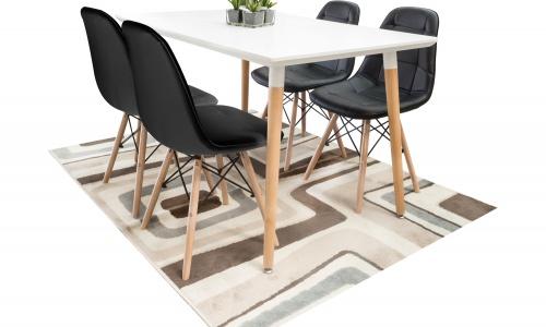 Conjunto mesa + 4 Cadeiras JOM M-401 + C-811