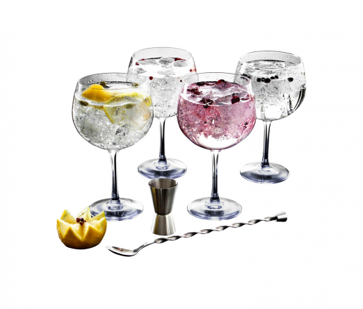 Conjunto 4 copos gin LUMINARC FIEESTA