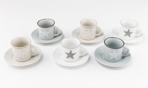 Conjunto 6 chávenas café JOM 270078 BISTRO
