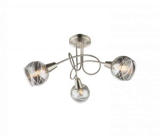 Candeeiro tecto GLOBAL LIGHT ROMAN  54348-3