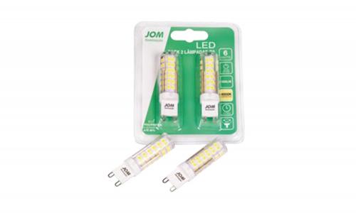 Pack 2 lâmpadas JOM LEB-1519