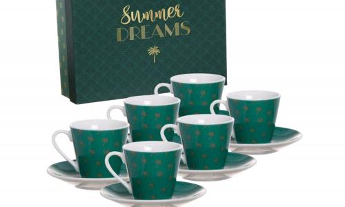 Conjunto 6 Chávenas café JOM 2776246 SUMMER DREAMS
