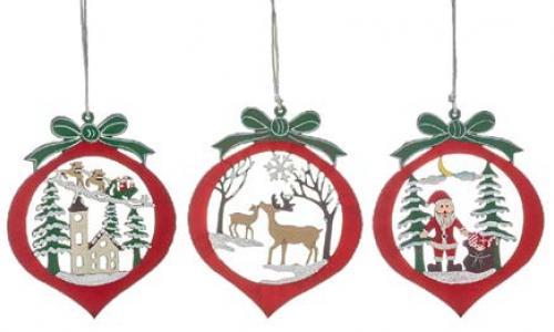 Ornamento de natal JOM 74995