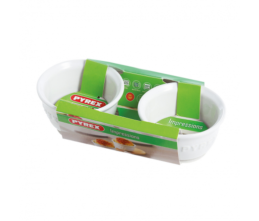Pack 2 ramequins PYREX IMPRESSIONS