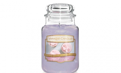 Vela jarro YANKKE CANDLE 1611846E SWEET MORNING ROSE