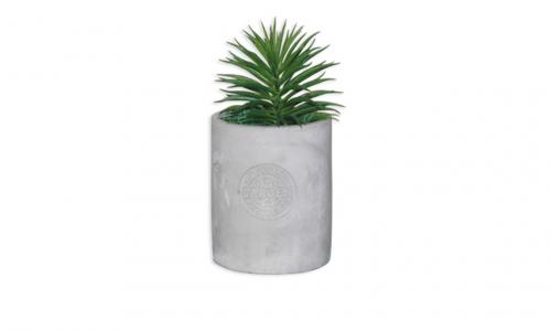 Vaso com planta artificial JOM 43098