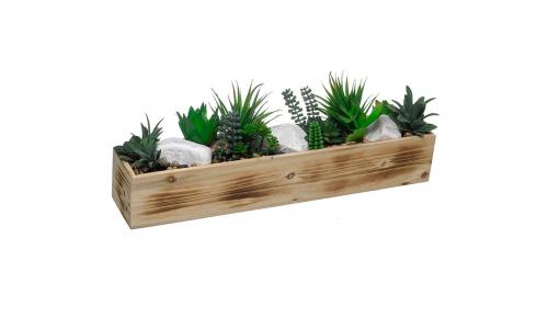 Caixa com Plantas Artificiais  43264