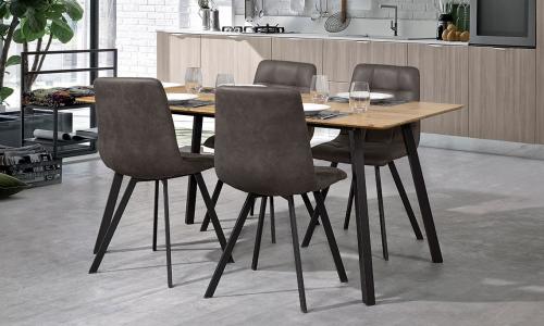 Conjunto Mesa + 4 Cadeiras JOM UDT8009 + UDC8025