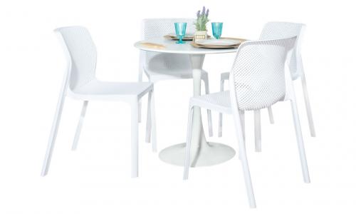 Conjunto Mesa + Cadeira JOM BW-T05 + BW-118