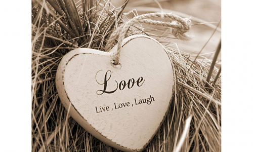 Tela ARTIS 607679  LIVE LOVE LAUGH