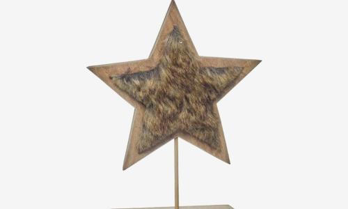 Ornamento de natal - estrela  80055