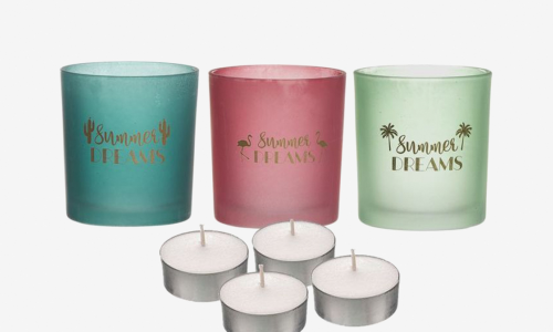 Conjunto 3 tealights JOM SUMMER DREAMS 2170283