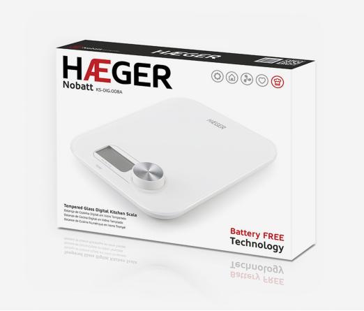 Balança Cozinha HAEGER KS-DIG.008A