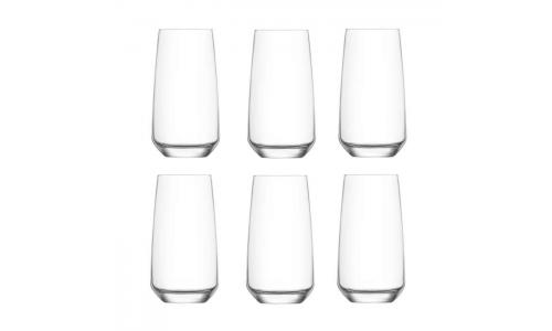 Conjunto 6 copos LAV LAL23076
