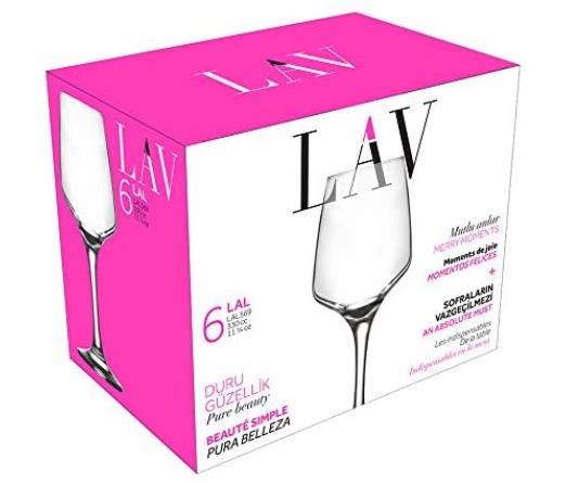 Conjunto 6 copos LAV LAL569F
