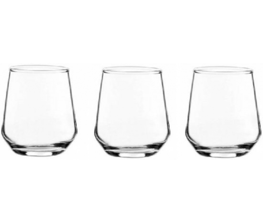 Conjunto3 copos PASABAHCE ALLEGRA 420124