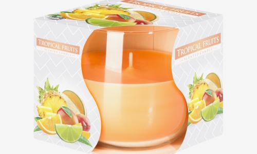 Vela copo - frutos tropicais Bispol S71-71