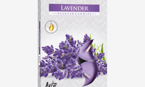 Pack 6 tealights AURA LAVANDA VP15/79