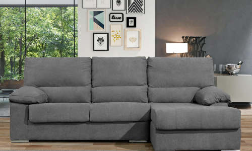 Sofa com chaise JOM Vila Real