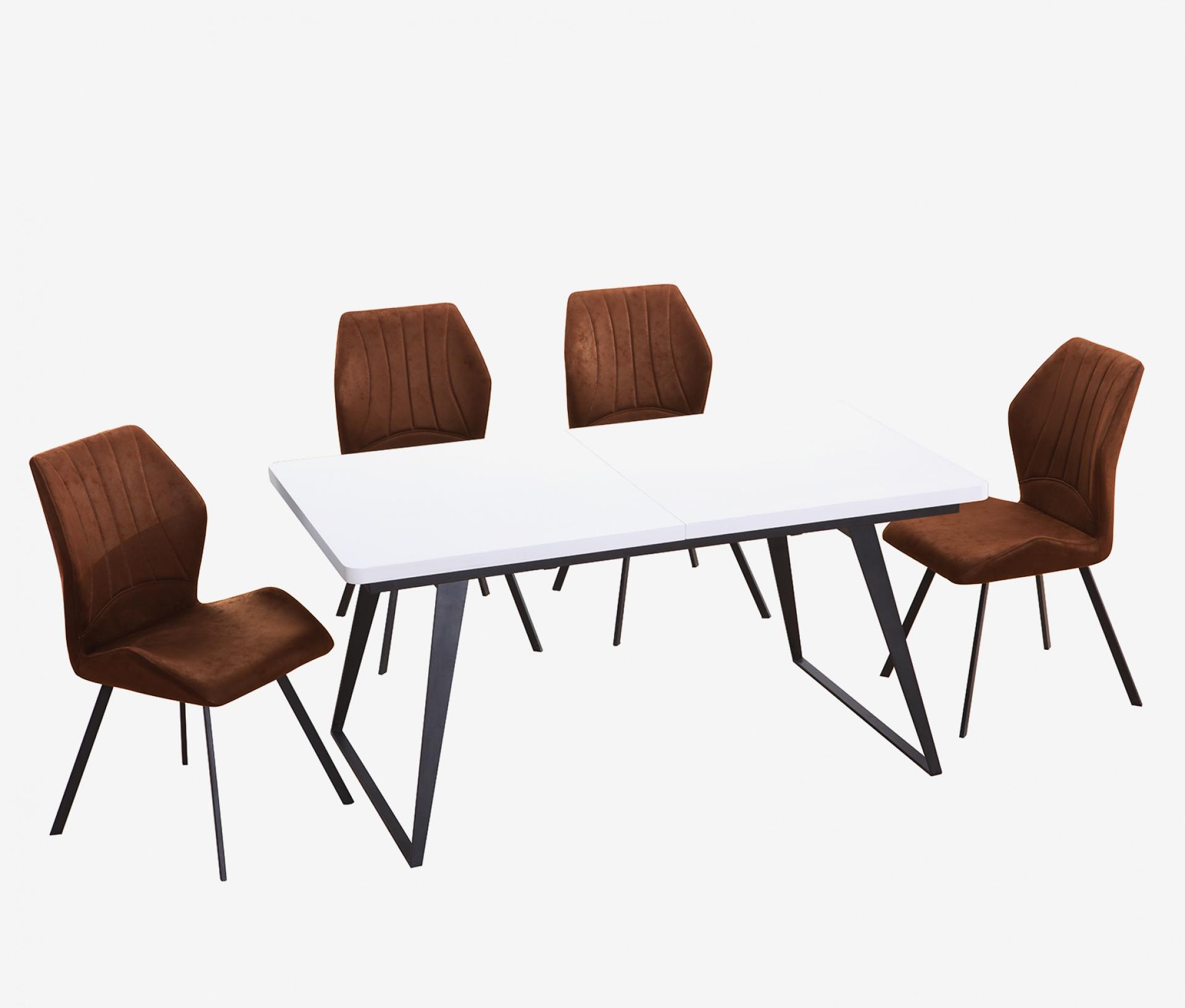 Conjunto Mesa + Cadeiras JOM DT-93B + DC-1840