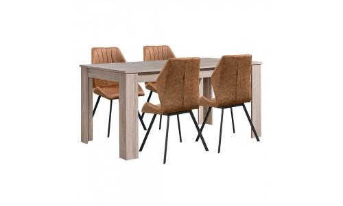 Conjunto Mesa + 4 Cadeiras JOM Sagres / DC-1840