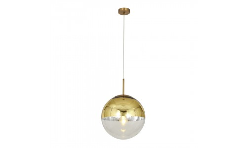 Candeeiro Suspenso GLOBAL LIGHT GLASS-25 GOLD
