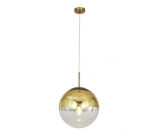 Candeeiro suspenso GLOBAL LIGHT GLASS-30 GOLD