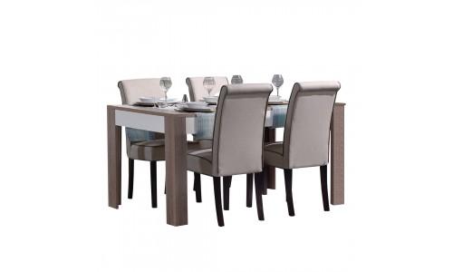 Conjunto Mesa + 4 Cadeiras JOM LAGOA / CMC6048