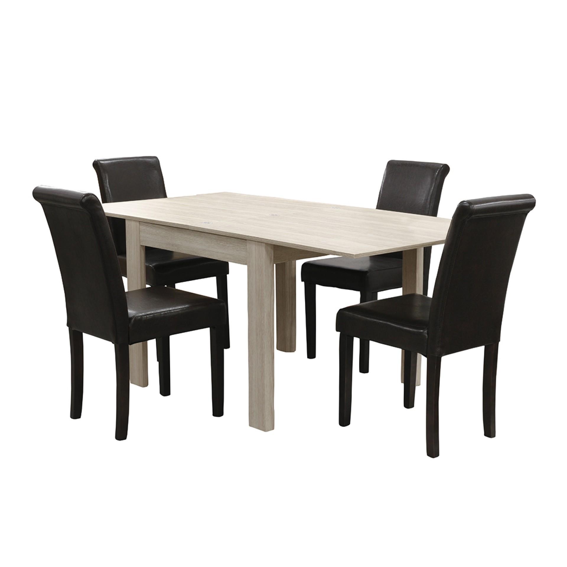 Conjunto mesa + cadeiras JOM 63015 + LW8700