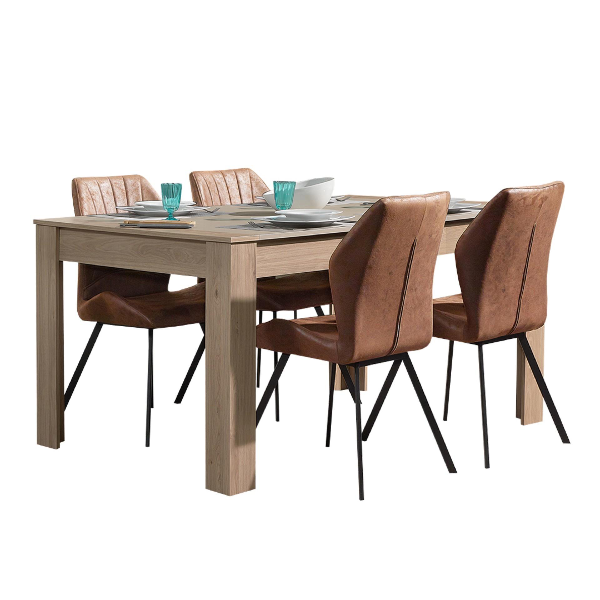 Conjunto Mesa + 4 Cadeiras JOM Aveiro / DC-1840