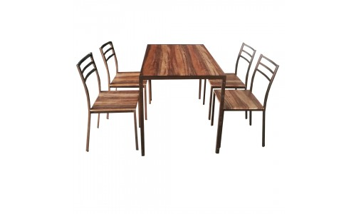 Conjunto Mesa + 4 Cadeiras JOM BILBAO