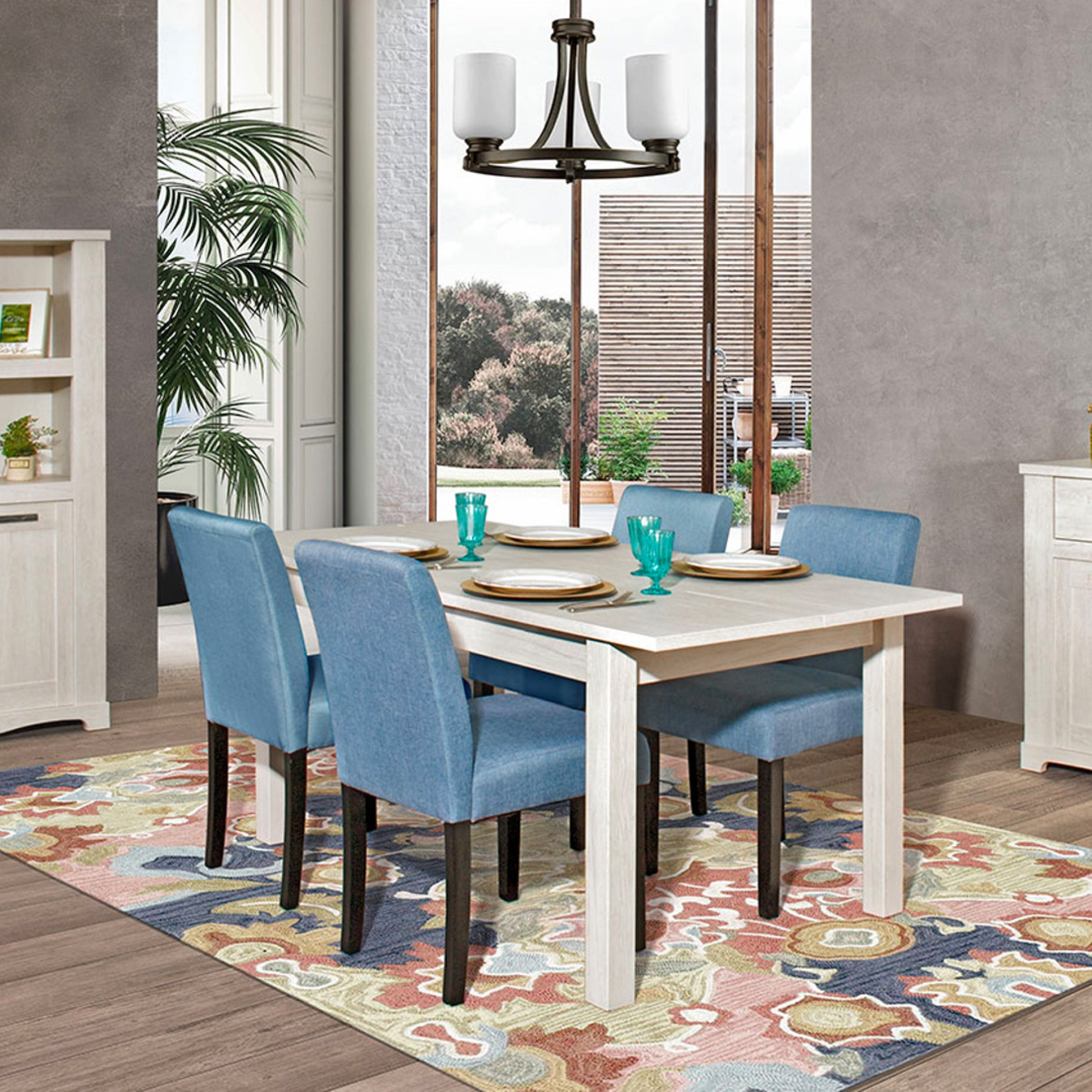 Conjunto Mesa + 4 Cadeiras JOM Sena