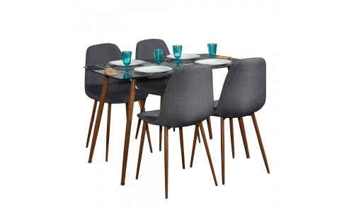 Conjunto Mesa + 4 Cadeiras JOM XS1262 / XS2441