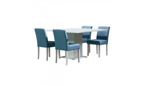 Conjunto Mesa + 4 Cadeiras JOM Ofir / LW8132