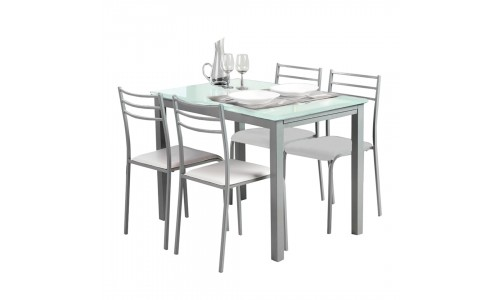 Conjunto Mesa + 4 Cadeiras JOM YS2348 / YS2458C