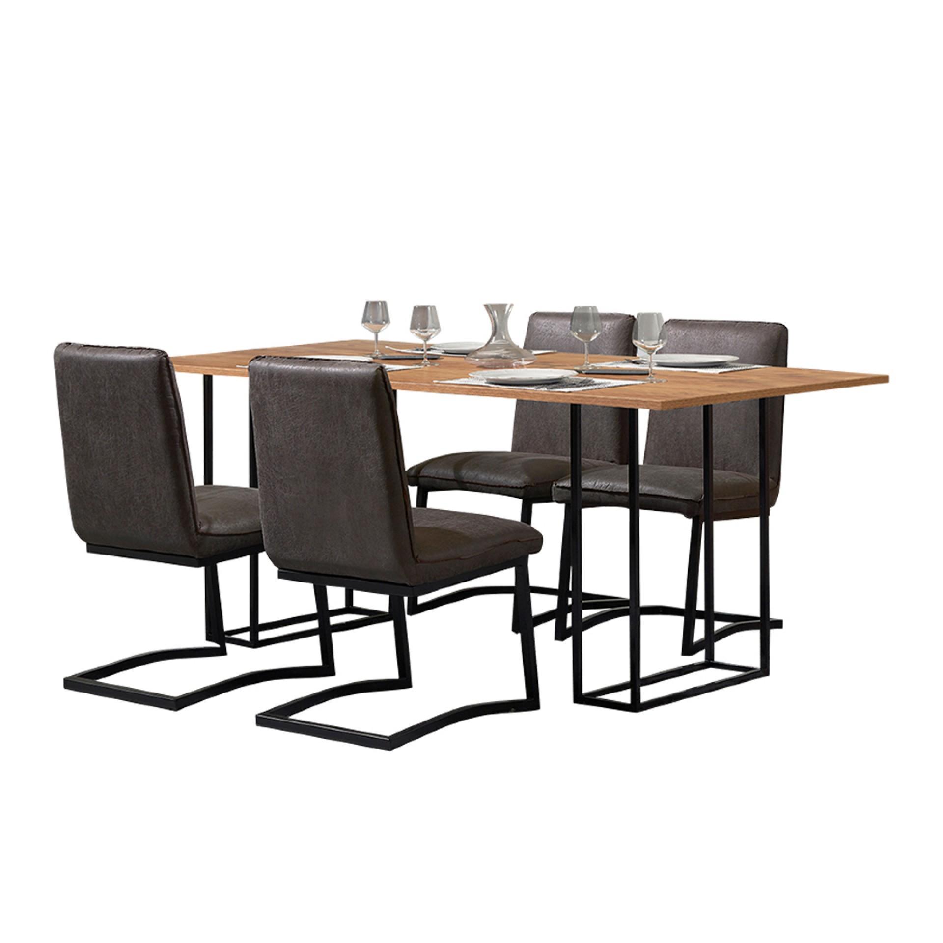 Conjunto Mesa + 4 Cadeiras JOM Setubal / C950