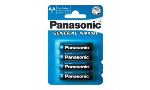 PILHA PANASONIC R6BB ZINC BL4
