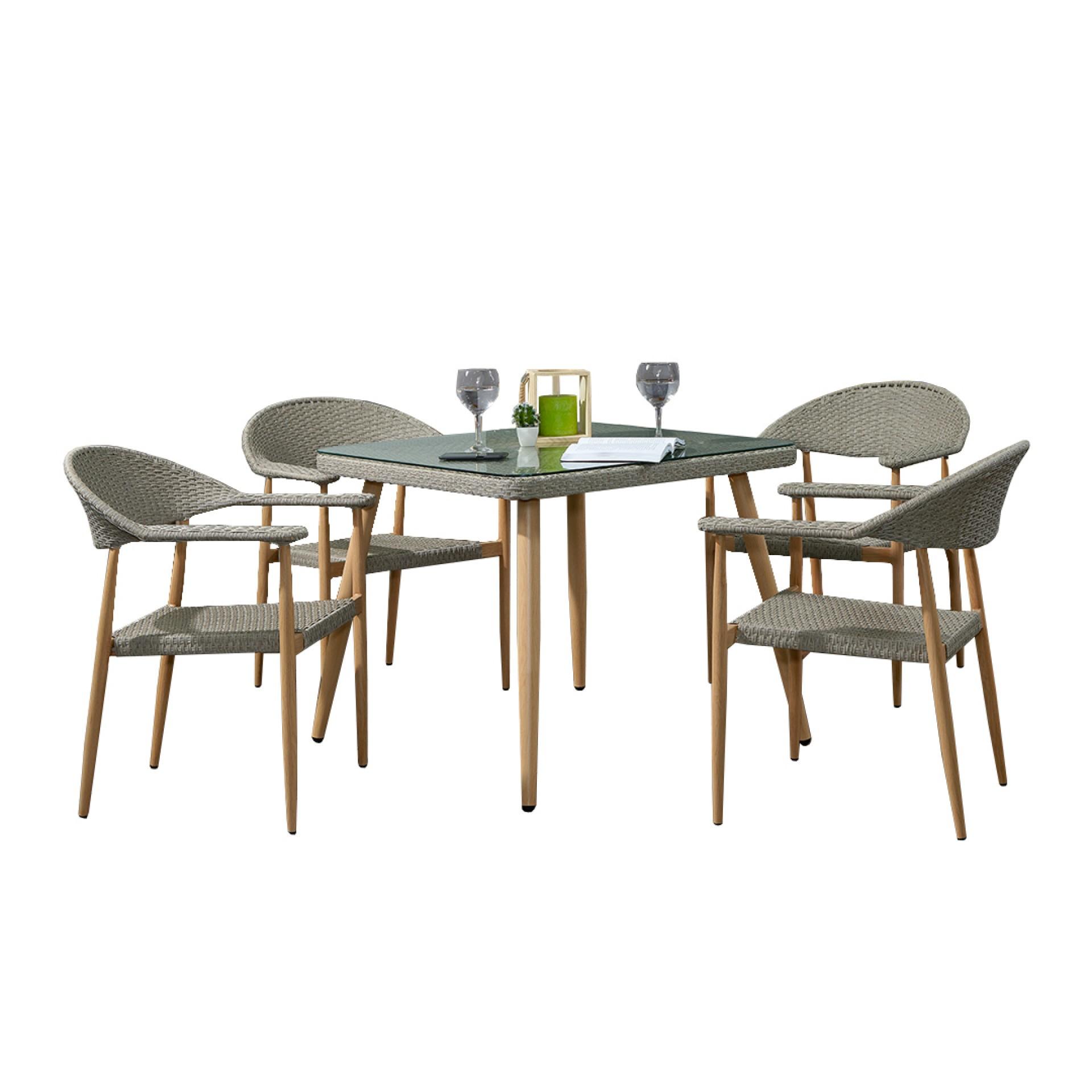 Conjunto Mesa + 4 Cadeiras JOM T390-Y390