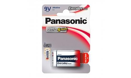 PILHA PANASONIC 6LR61 EVERYDAY BL1