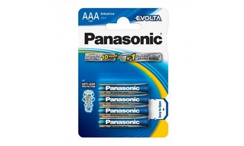 PILHA PANASONIC LR03EE/4BP