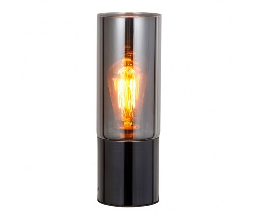 Candeeiro mesa GLOBAL LIGHT GLASS-TL-NICKEL BLACK
