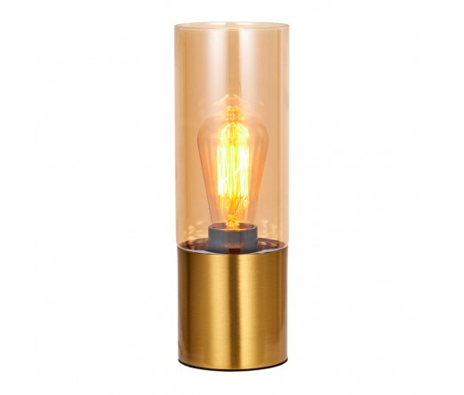 Candeeiro mesa GLOBAL LIGHT GLASS-TL-BRASS